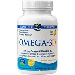 Omega 3D 60 Softgels