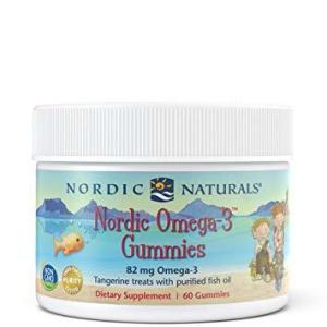 Omega 3 Tangerine Gummies