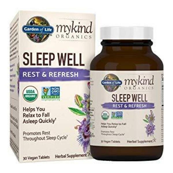 MyKind Herbal Sleep Well 30 Tablets
