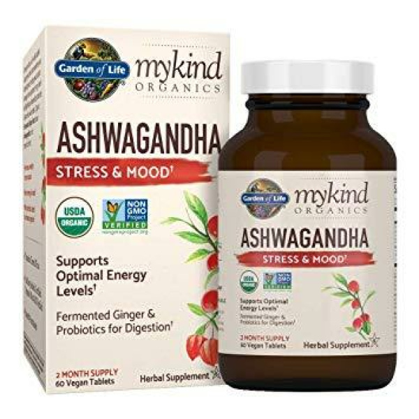 MyKind Herbal Ashwagandha 60 Tablets