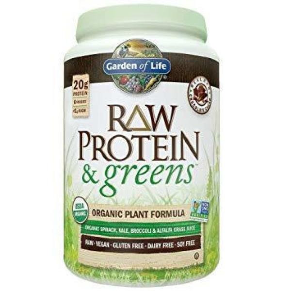 Raw Protein & Greens Sweet Powder