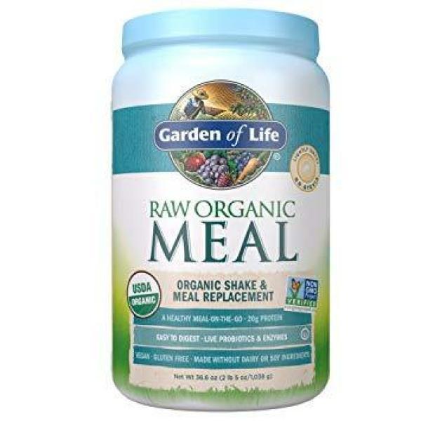 Raw Meal Vanilla Small Powder