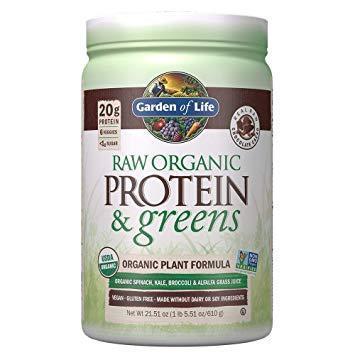 Raw Proteins & Greens Chocolate Powder