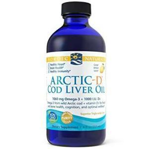 Artic-D Cod Liver Oil Lemon 8 Oz