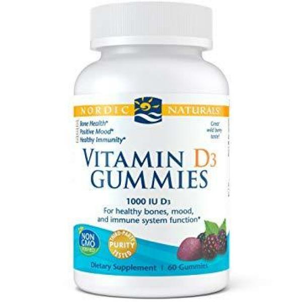 Vitamin D3 Gummies 60 Count