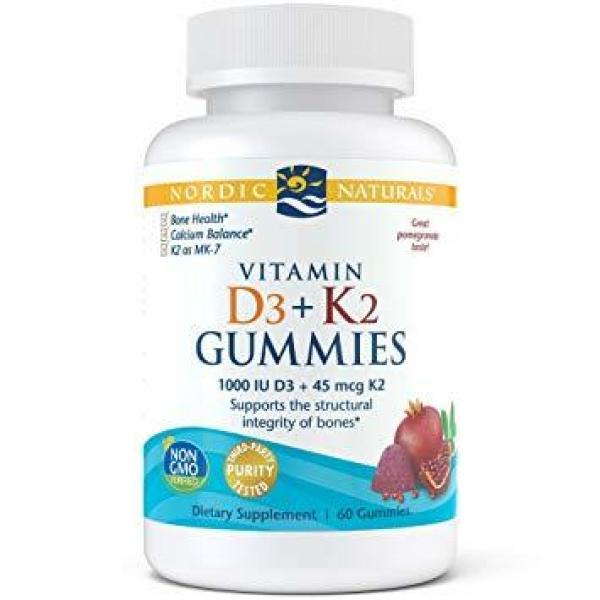 Vitamin D3 & K2 Gummies 60CT