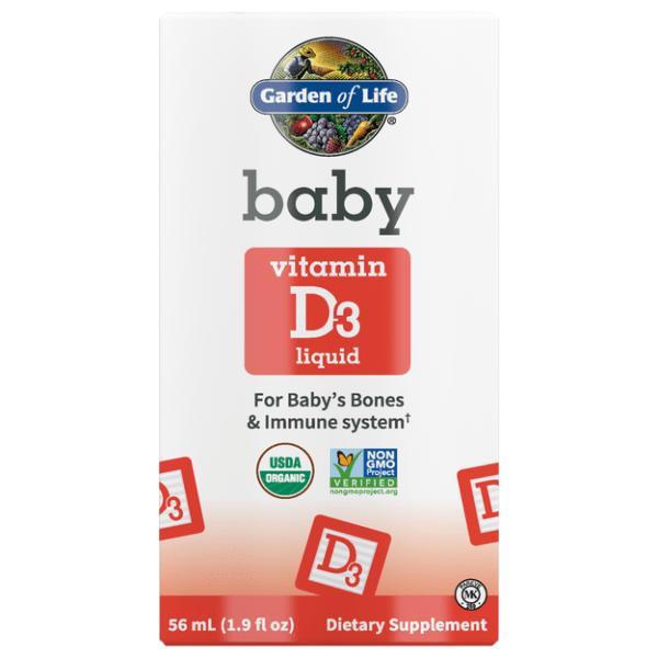 Baby Vitamin D3 Liquid 1.9 oz