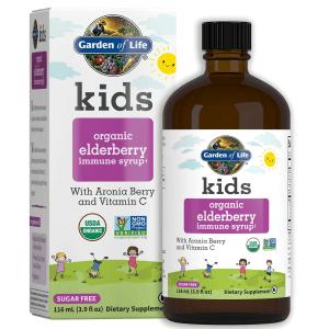 Kids Elderberry Syrup 3.9 Oz