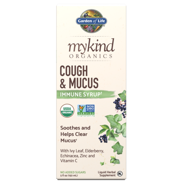 Mykind Cough & Mucus Syrup 5 Oz