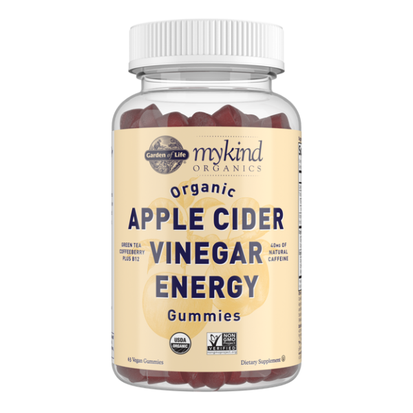 Apple Cider Vinegar Gummies Energy 63CT