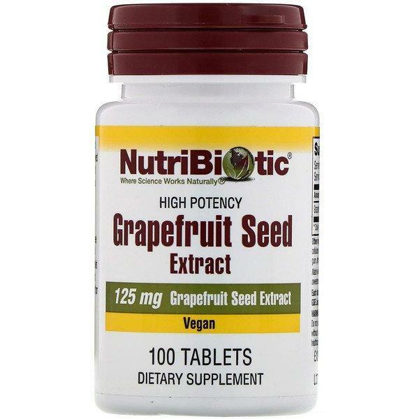 Grapefruit Seed 125MG 100T