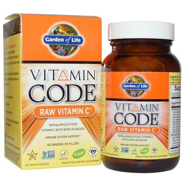 Vitamin Code Raw C 120C