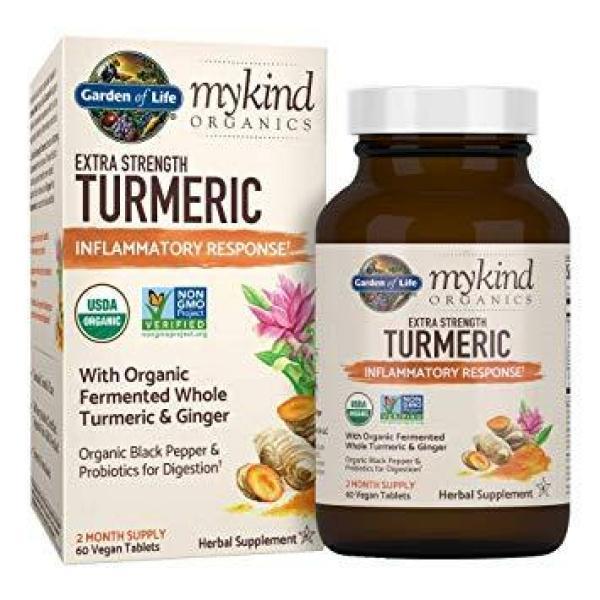 MyKind Herbal Turmeric Extra Strength 120 Tablets