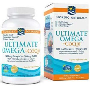 Ultimate Omega CoQ10 120C