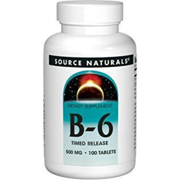 Vitamin B 6 500 Mg Time Released