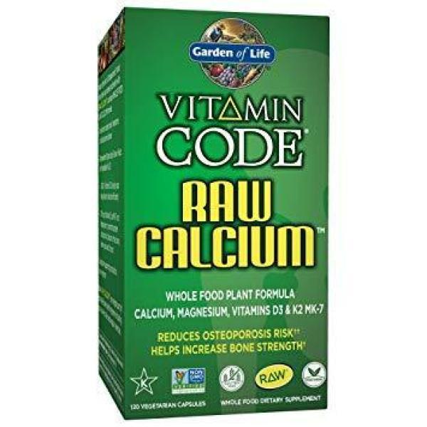 Vitamin Code Raw Calcium 120C