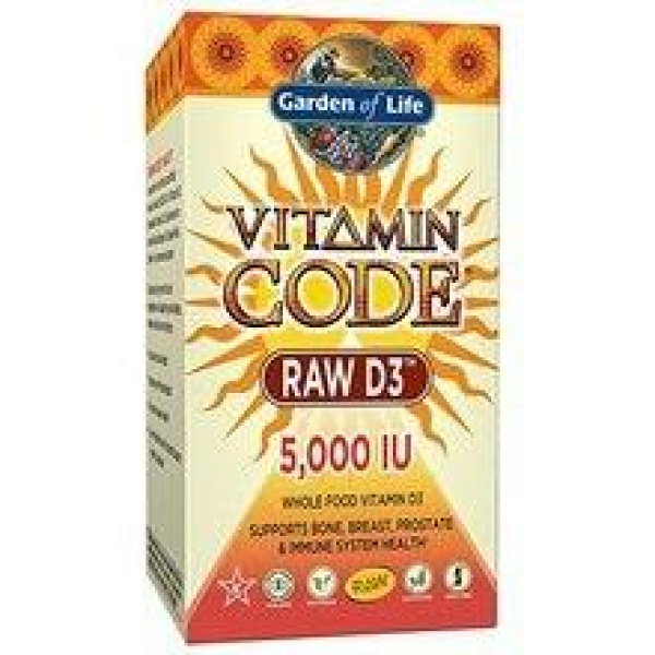 Vitamin Code Raw D3 5000 IU 60C
