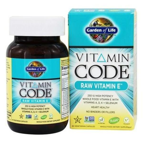 Vitamin Code Raw E 60C