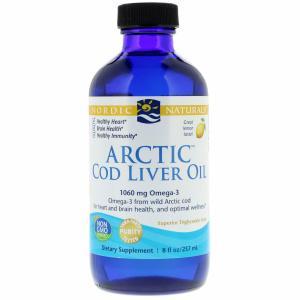 Cod Liver Oil Lemon 8 Oz