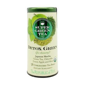 Organic Detox Green SuperGreen Tea