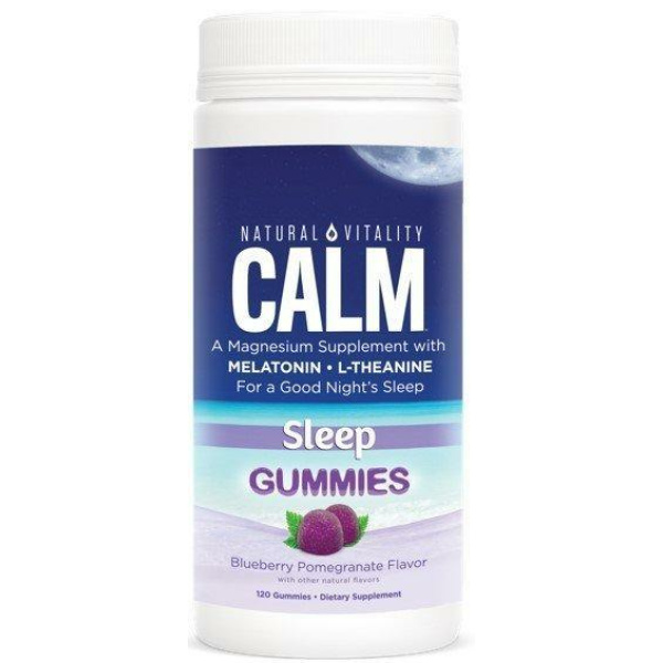 Calm Sleep Gummies Blueberry Pomegranate 120 Ct