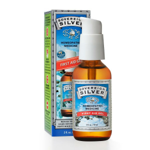 Sovereign Silver First Aid Gel 2 Oz
