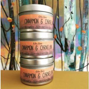 Cinnamon & Carnelian 4 Oz Candle