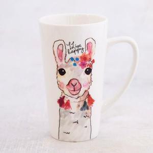 Llama Latte Mug