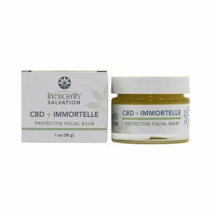 Inesscents CBD Oil Immortelle Protective Facial Balm 1oz