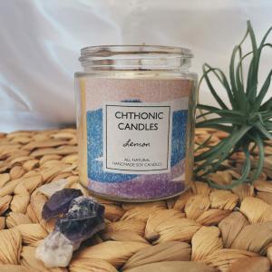 Chthonic Candles Lemon 4oz