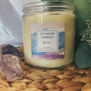 Chthonic Candles Lemon 16oz