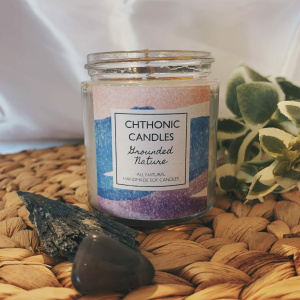 Chthonic Candles Grounded Nature 4oz