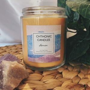 Chthonic Candles Lemon 8oz
