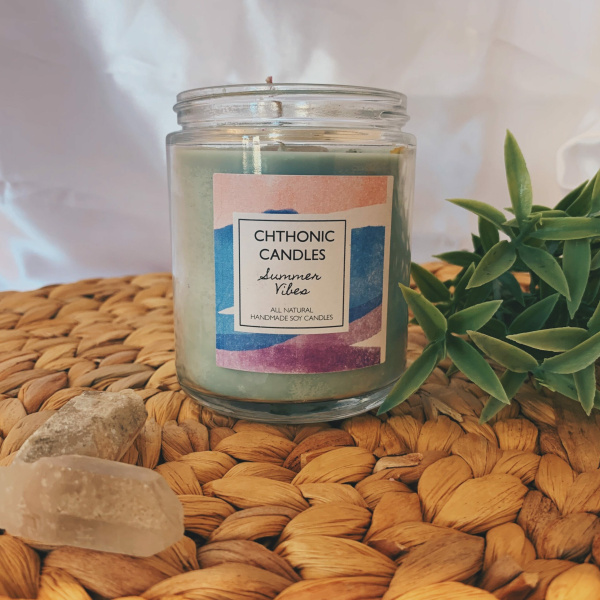 Chthonic Candles Summer Vibes 8oz