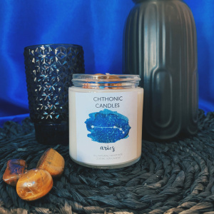 Chthonic Zodiac Aries Candle 4oz