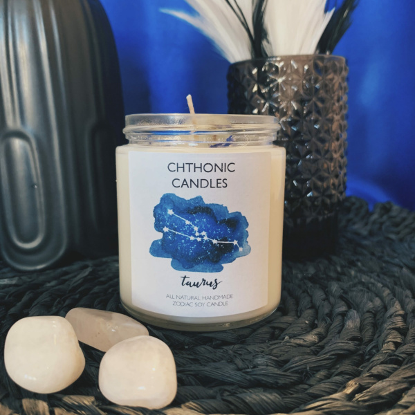 Chthonic Zodiac Taurus Candle 4oz