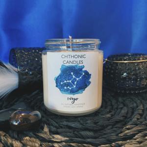 Chthonic Zodiac Virgo Candle 4oz