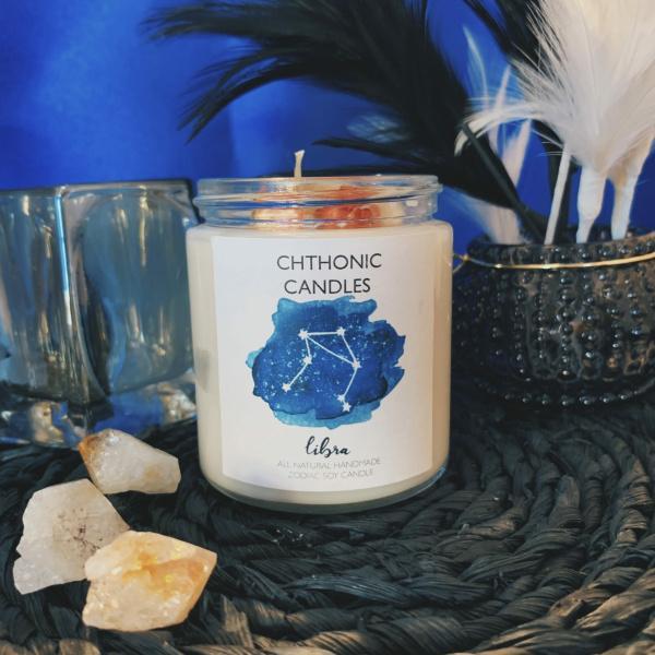 Chthonic Zodiac Libra Candle 4oz