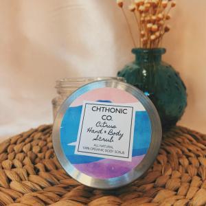 Chthonic Co. Citrus Hand & Body Scrub 2oz