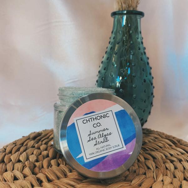 Chthonic Co. Summer Sea Algae Scrub 2oz