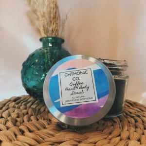 Chthonic Co. Coffee Hand & Body Scrub 2oz