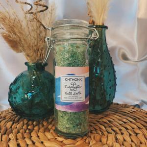 Chthonic Co. Eucalyptus Mint Bath Salts 4oz