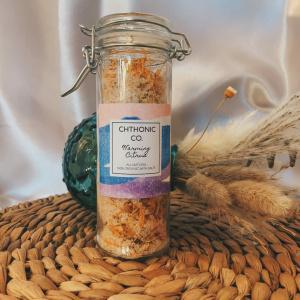 Chthonic Co. Warming Citrus Bath Salts 4oz