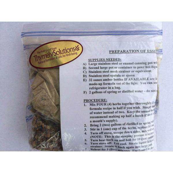 Essiac Formula Prepackaged Loose Tea