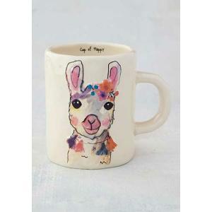 Embossed Llama Mug