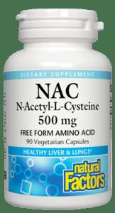N-Acetyl-L-Cysteine 500MG 90VC