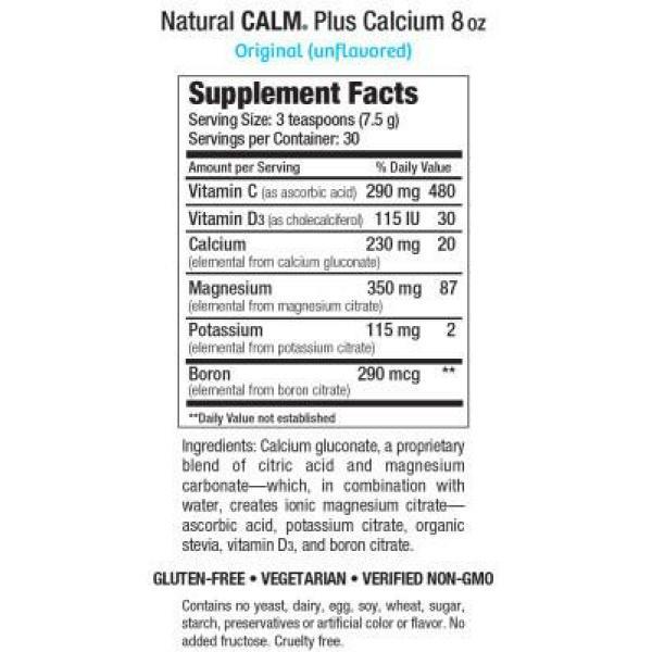 Calm Plus Calcium Unflavored