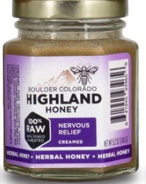 Highland Honey Nervous Relief 5.2oz