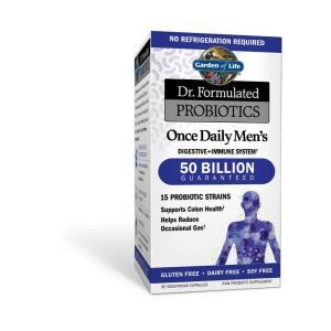 Dr. Formulated Probiotics Once Daily Men's Shelf Stable