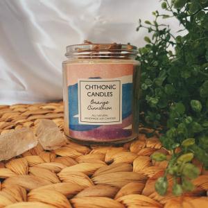 Chthonic Candles Orange Cinnamon 4oz